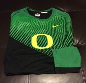 Nwot Nike Drifit Oregon Ducks Basketball LS Shirt Men's Big&Tall Size 3XLT