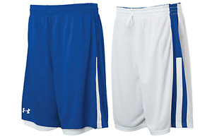 Under Armour mens Undeniable reversible Basketball Shorts  Royal  White xl