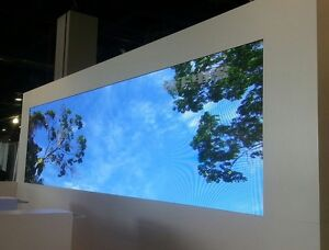 LED Video wall-Sign-LED displays-P6mm indoor 17' x 9.5'-full color-Programmable