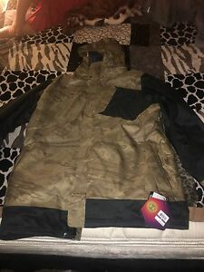 NEW UNDER ARMOUR ColdGear STORM INFRARED Digital CAMO Mens XL HOODED JACKET $249
