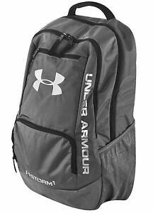 NEW Under Armour Storm Hustle Backpack (GRAPHITE) 1263964-040