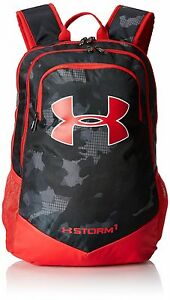 Under Armour Boys' Storm Scrimmage Backpack BlackRed One Size