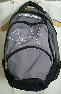 GirlsWomens Gray Under Armour Backpack