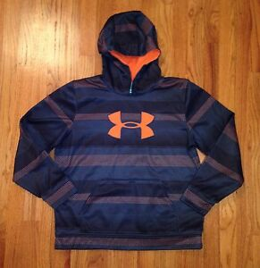 UNDER ARMOUR LOT of 7 BOYS Logo Hoodie Sweatshirts Youth XLARGE