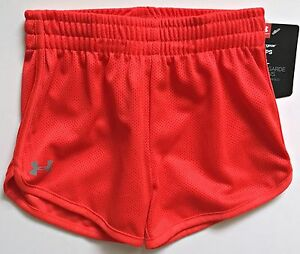 Under Armour Toddler Girl's Essential Mesh Shorts Size 2T