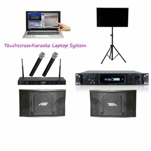 Touchscreen Karaoke Laptop with upgraded Wireless and Bluetooth  Lightyear Musi