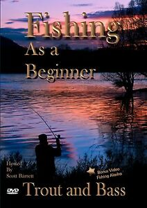 Fishing as a Beginner instruction dvd video Trout and Bass