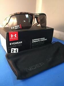 NEW UNDER ARMOUR IGNITER 2.0 SATIN REALTREEGRAY SUNGLASSES-UNDER ARMOUR DEALER