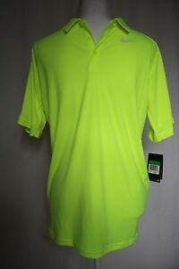 Nike DRY FIT Boy's Size XLarge Green Short Sleeve Polo Golf Shirt NEW W TAGS NWT