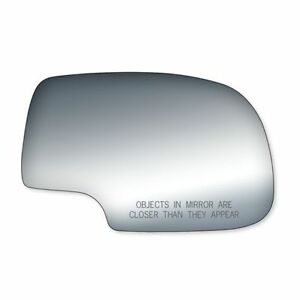 03 07 SILVERADO SUBURBAN TAHOE GMC SIERRA FIT RIGHT SIDE MIRROR GLASS RH # 3555