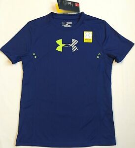 NWT youth Boys' YXL X-large UNDER ARMOUR baselayer TOP shirt loose fit wetsuit