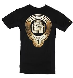 The Hunger Games Mens T-Shirt - District 1 Victor Castle Image