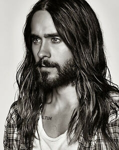 JARED LETO (Long Hair) POSTER 24 X 36 INCH LOOKS AWESOME!