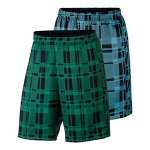 Nike Dri-FIT Dry Court 830829 Mens Shorts Plaid Multiple Colors