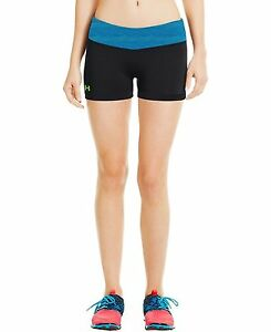 Under Armour Womens HeatGear Sonic 2.5 Shorty X-Large Black
