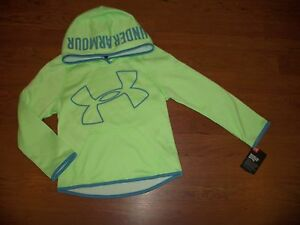 NWT Under Armour girls hoodie size 5