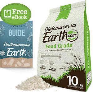 10 LBS Diatomaceous Earth 100% Organic Food Grade Diamateous Earth Powder