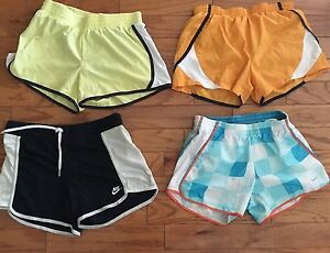 Nike Womens Running Tempo Track Shorts Lot of 4 SMALL