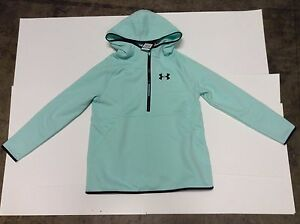 Under Armour Girls' Storm Armour Fleece Hoodie Youth XL - Mint