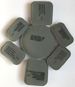 ACH Combat Mich Helmet Replacement Pad Set (7) Suspension System Sz 34 Used