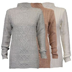ladies long jumpers Threadbare womens knitted sweater pullover jacquard winter