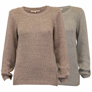 ladies jumpers Threadbare womens sequins knitted sweater pullover top winter new