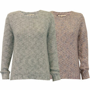 ladies mohair jumper Threadbare womens cable knitted sweater casual winter new