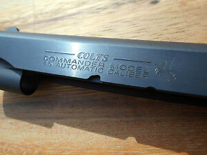 Factory Colt Commander 1911 Series  80 45acp Slide  - Brand New