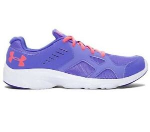 NEW Youth Girls Under Armour Shoes Size 4 4Y 5 5Y GGS PACE RN 1272293-744