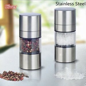 High Quality Stainless Steel Manual Salt Pepper Mill Grinder