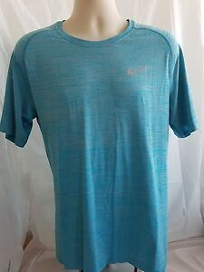 Nike Running Dry Fit T-SHIRT Size XXL Blue