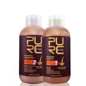 Hair Loss Growth Products 300ml x2 Hair Thickening Shampoo And Hair Conditioner