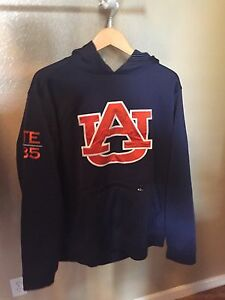 2015 Auburn Tigers Under Armour Football Sweatshirt Hoodie & Pants XXL Large