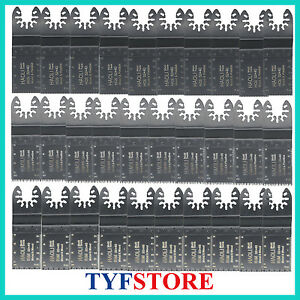 30pc  mix quick change oscillating multi tool saw blade for Black