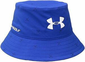 Under Armour Boys Golf Bucket Hat Ultra BlueWhite One Size