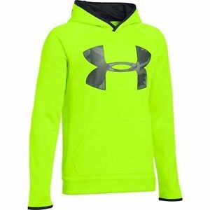Under Armour Big Boys Armour Fleece Storm Highlight Hoodie 1281073
