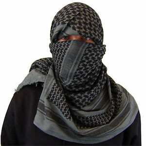Military Army Shemagh Tactical Desert Keffiyeh Scarf 100% Cotton Scarves Roman $11.99