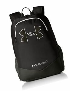 Under Armour Boy's Storm Scrimmage Backpack Black (001)Silver One Size