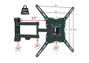 Full Motion TV Wall Mount Articulating 32 37 39 50 Inch LED LCD Flat Screen