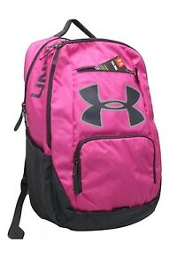 Unisex Under Armour Large Backpack Storm 1 Reflective Pink Black 1284002-652
