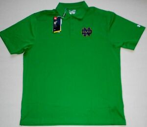 NOTRE DAME FIGHTING IRISH UNDER ARMOUR LOOSE COACHES POLO SHIRT GOLF MEN'S 2XL