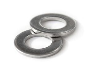 Stainless Steel Flat Washer DIN 125A M2 M2.5 M3 M4 M5 M6 M8 M10 M12 M14 M16 M20