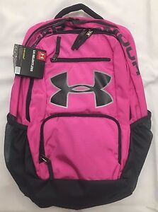 Under Armour Storm Relentless Backpack Girl's Pink Gray 1284002-652 NEW