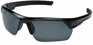 Under Armour Igniter 2.0 Shiny Black Frame with Black Rubber and Storm ANSI
