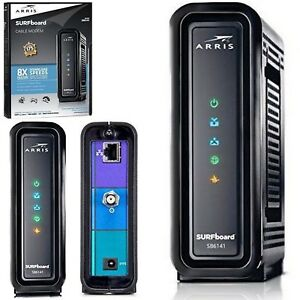 SURFboard Cable Modem Certified with Comcast Xfinity Time Warner Cox Charter
