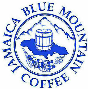 100% Jamaican Blue Mountain Peaberry Coffee Whole Beans Medium Roasted Daily 1LB