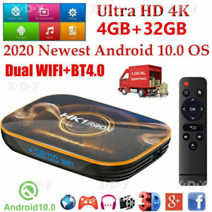 HK1MINI NEW Smart OTT TV BOX Android 9.0 2+16G Quad Core 4K 3D WiFi Media Player