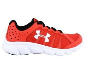 NEW Boy's Under Armour Shoes Youth UA ASSERT 6 Athletic Rocket Red 1266319-706