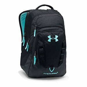 1x Recruit Backpack Awesome Bags Under Armour Storm Black Unisex Water-repellent