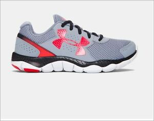 NEW Under Armour Engage 3 Big Logo Boys Running Shoe 7 Youth UK 6 EUR 40